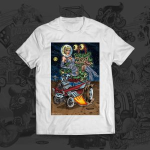 Alien Gasser Abduction tshirt