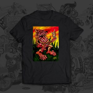 Backwoods Boogie Big Toe Art Tshirt