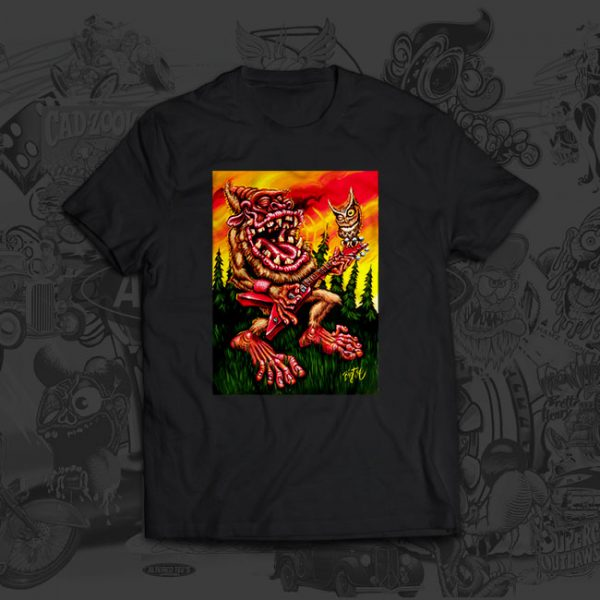 Backwoods Boogie Big Toe Art Tshirt