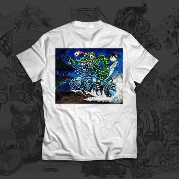Black Lagoon Boogie - Big Toe Art - Tshirt