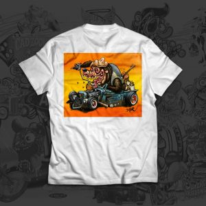 Blood on the Saddle - Big Toe Art - Tshirt