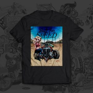 Built For Speed - Big Toe Art - Tshirt
