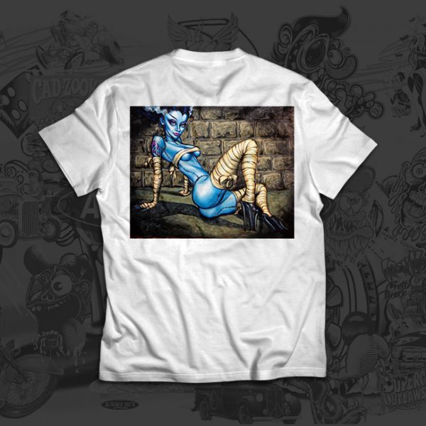 Buxom Bride - Big Toe Art - Tshirt