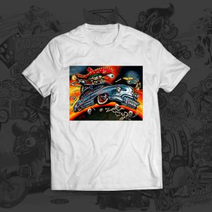 Custom Calavara - Big Toe Art - Tshirt