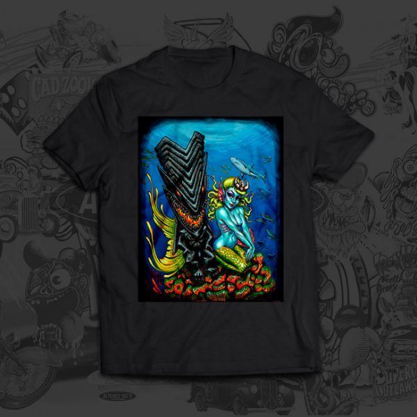 Dark Kanaloa - Big Toe Art - Tshirt