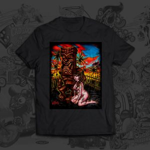 Dark Ku - Big Toe Art - Tshirt
