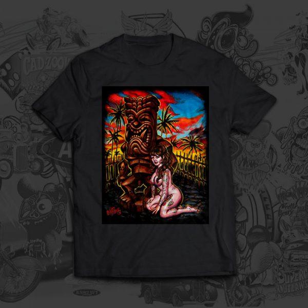 Dark Ku - Big Toe Art - Tshirt