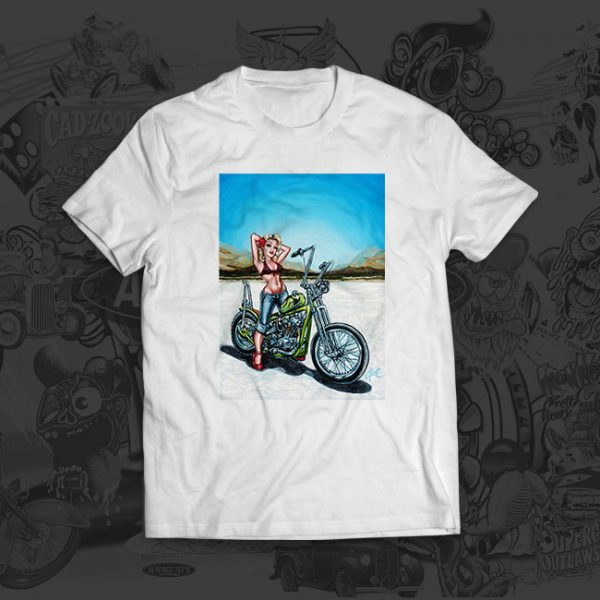 Desert Flower - Big Toe Art - Tshirt