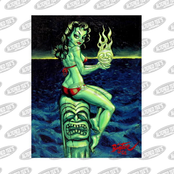Green Goddess - Big Toe Art
