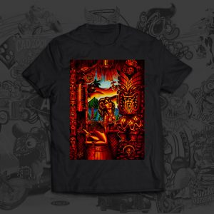 Howies Tiki Lani - Big Toe Art - Tshirt