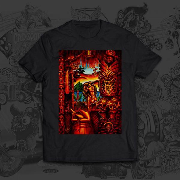Howies Tiki Lani - Big Toe Art - Tshirt