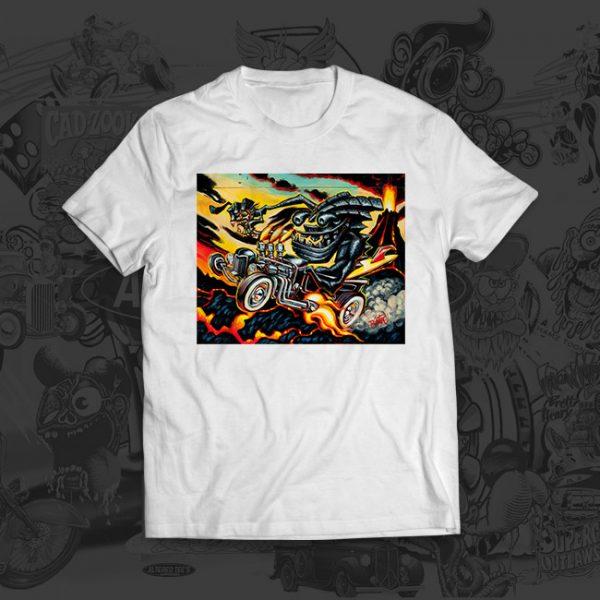 Lava Tiki - Big Toe Art - Tshirt