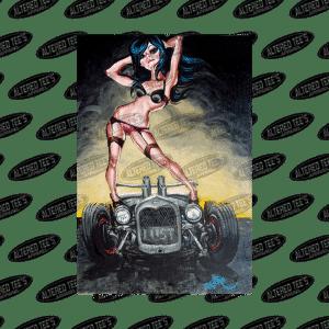 Lust - Big Toe Art