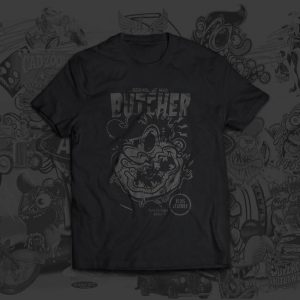 Mad Butcher Christoph Matzi Tshirt