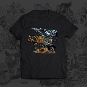 Nosferatu Dragula - Big Toe Art - Tshirt