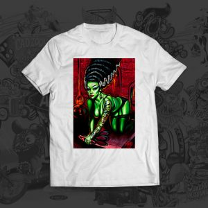 Novia Del Monstro - Big Toe Art - Tshirt