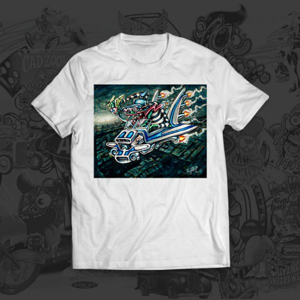 Outlaw 3000 - Big Toe Art - Tshirt