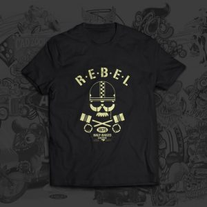 Rebel 1975 half baked Christoph Matzi Tshirt