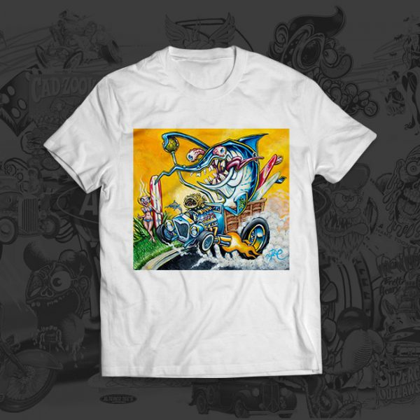Sowrd Fink - Big Toe Art - Tshirt