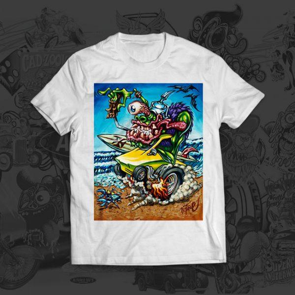 Surfite Summer - Big Toe Art - Tshirt
