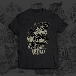 burn out Christoph Matzi Tshirt