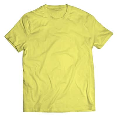 yellow silk tshirt