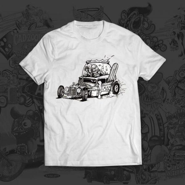 creature rod - Jesper Bram - tshirt