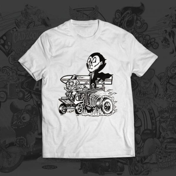 dracula hotrod - Jesper Bram - tshirt