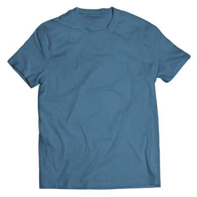 indigo blue tshirt