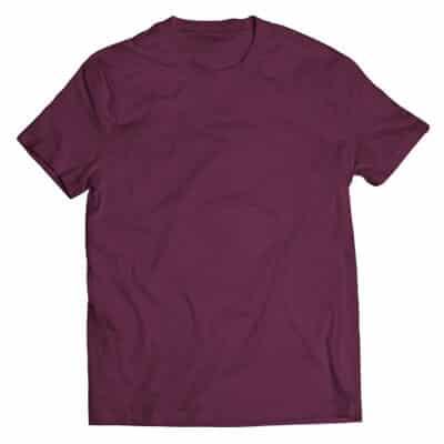 maroon tshirt