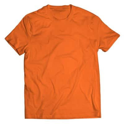 orange tshirt