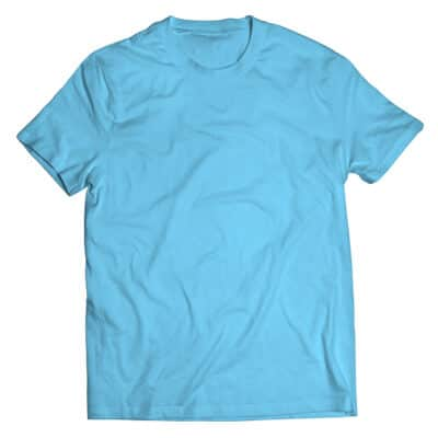 sky blue tshirt