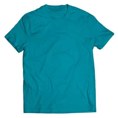 tropical blue tshirt