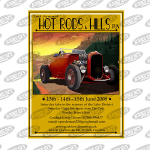 2nd annual hot rods and hills run