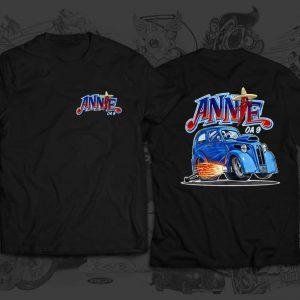 annie race team tshirt