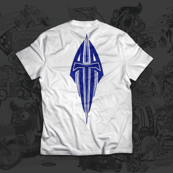 ata design blue tshirt