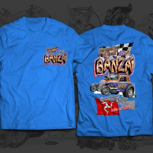 banzai racing team tshirt