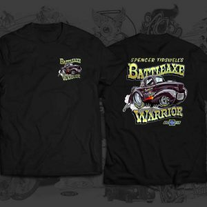 battleaxe warrior race team tshirt