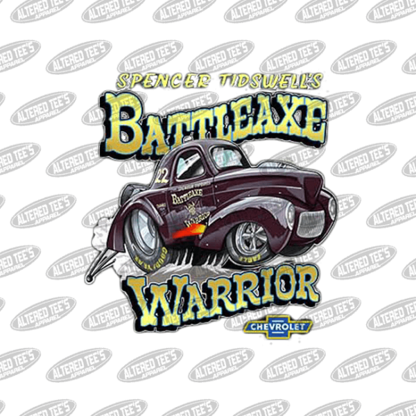battleaxe warrior race team
