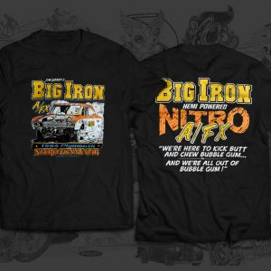 big iron race team tshirt