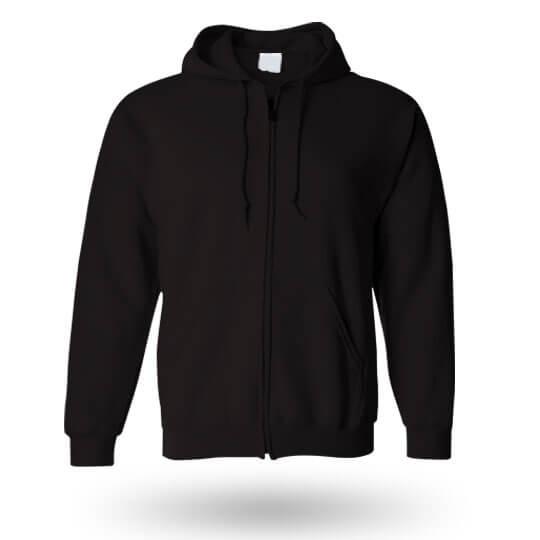 black custom hoodie