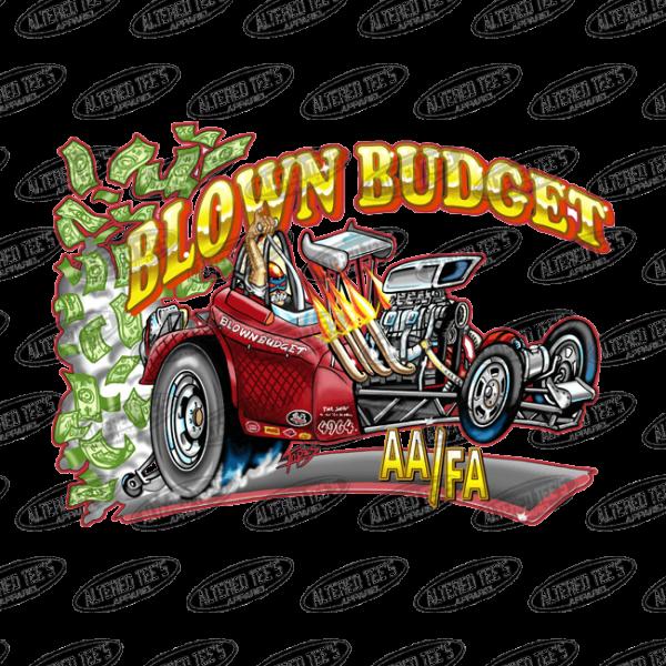 blown budget race team