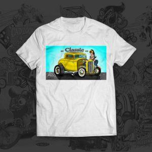 classic yellow - mark arnold tshirt