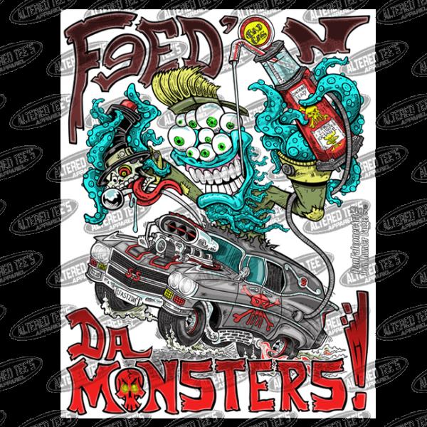 fead n da monster