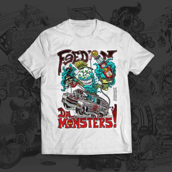 fead n da monster tshirt