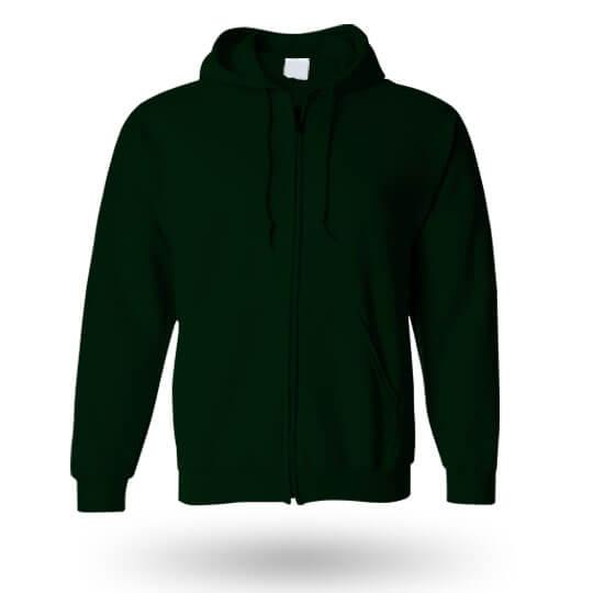 forest green custom hoodie
