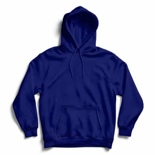 french navy hoodie