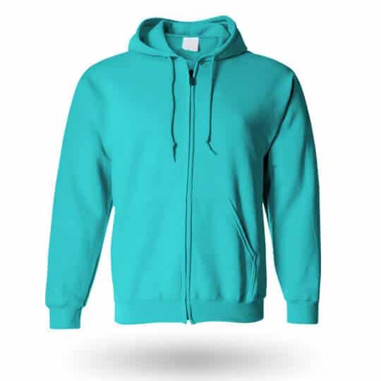 hawian blue custom hoodie