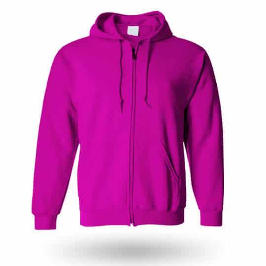 hot pink custom hoodie