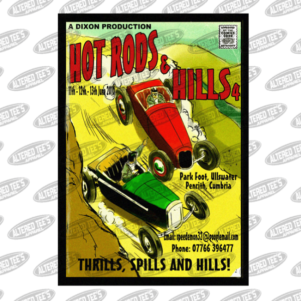 hot rods and hills thrills and spills